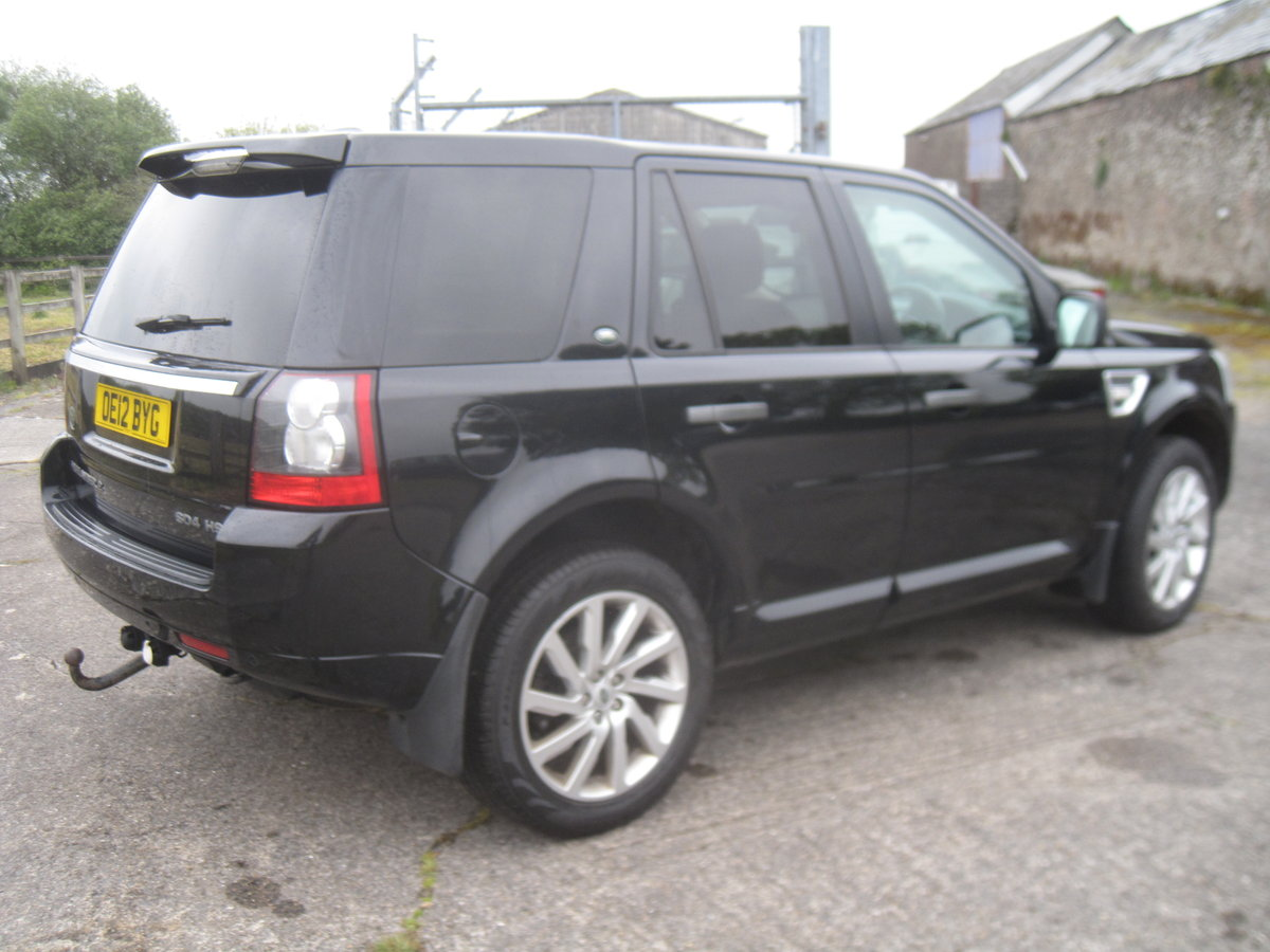 2012 Freelander 2 HSE SD4 Auto For Sale (picture 4 of 6)