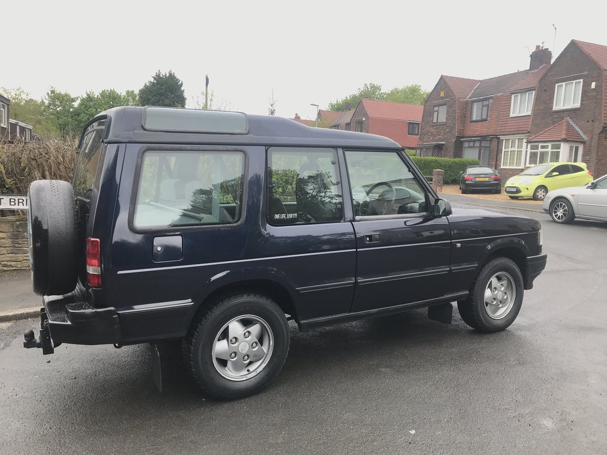 1997 rare 3 door landrover discovery 1 300tdi imac, For Sale (picture 3 of 6)