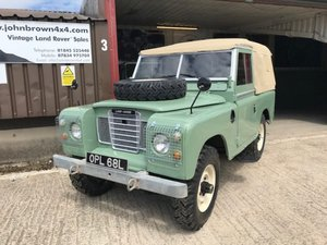 1971 Land Rover® Series 3 *Galv Chassis Rebuild - High Spec*(OPL) SOLD