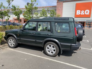 2003 TD5 Discovery. Full leather. Tow bar.