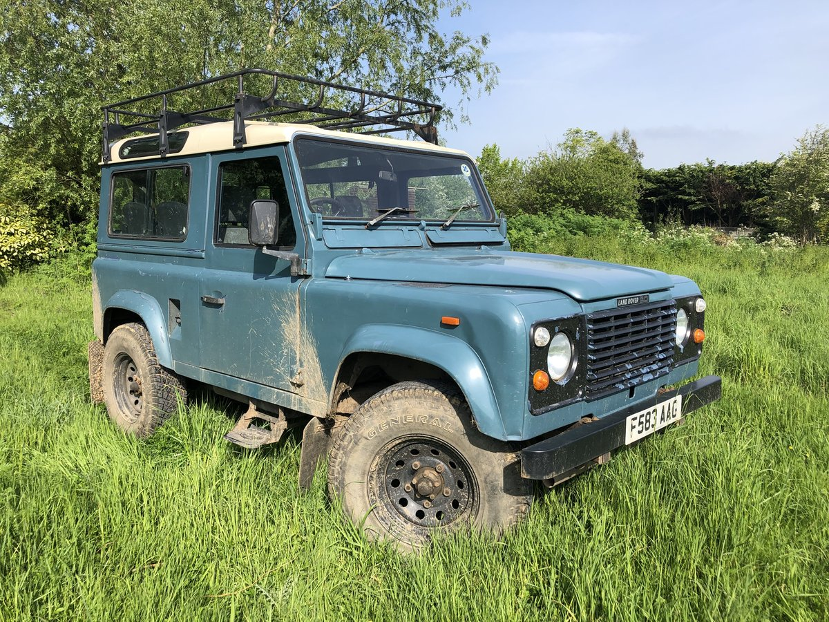 1988 Land Rover Defender 90 4C RARE 2.5 PETROL MODEL Low Mileage! For Sale (picture 1 of 6)