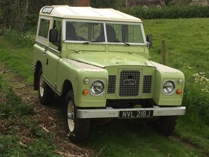 "1971 Land Rover Series IIA 88"" 2.5 petrol For Sale"