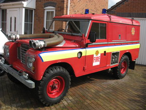 1982 Land Rover Fire Engine For Sale