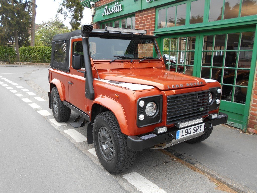 2001 Land Rover Defender 90 TD XS COnvertible  SOLD (picture 2 of 4)