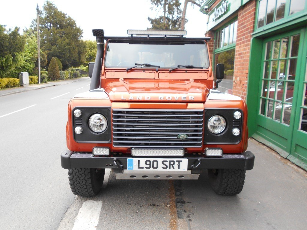 2001 Land Rover Defender 90 TD XS COnvertible  SOLD (picture 4 of 4)