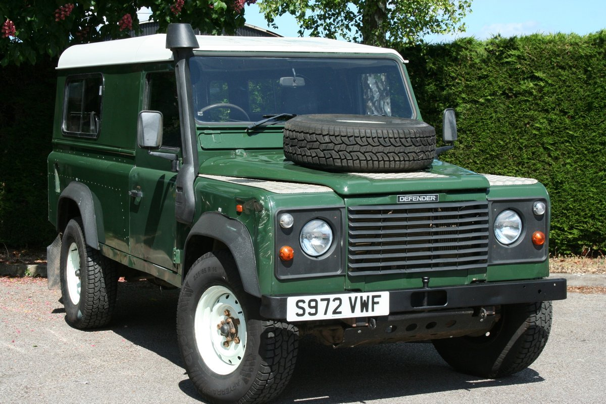 1998 Land Rover Defender 110 300 TDI Ex MOD For Sale (picture 1 of 6)