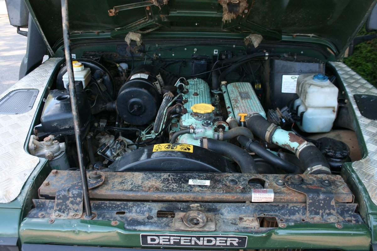 1998 Land Rover Defender 110 300 TDI Ex MOD For Sale (picture 2 of 6)