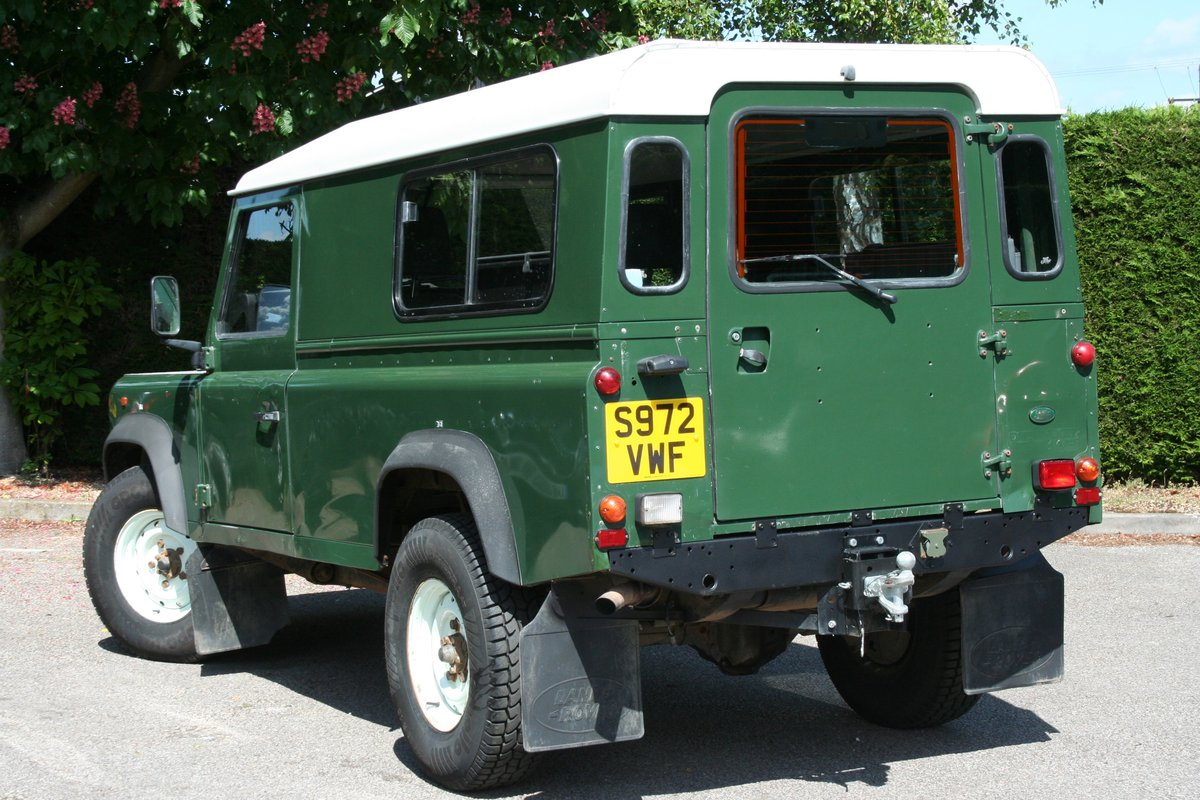 1998 Land Rover Defender 110 300 TDI Ex MOD For Sale (picture 6 of 6)