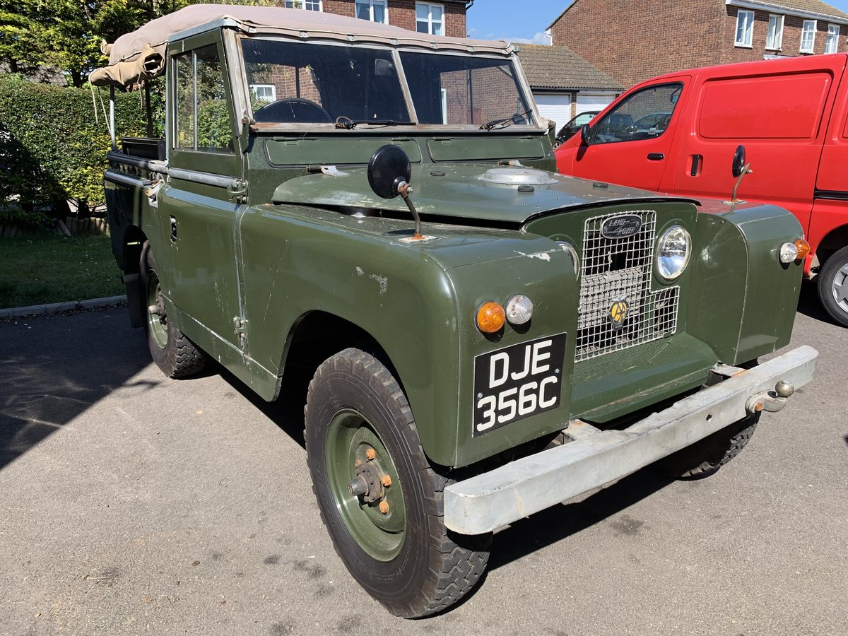 """LAND ROVER SERIES 2a 200 TDI CONVERSION 1965 88"""" For Sale (picture 1 of 6)"""