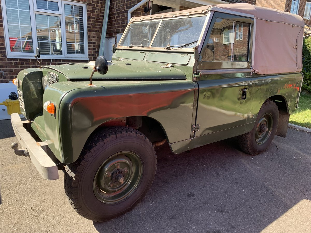 """LAND ROVER SERIES 2a 200 TDI CONVERSION 1965 88"""" For Sale (picture 2 of 6)"""