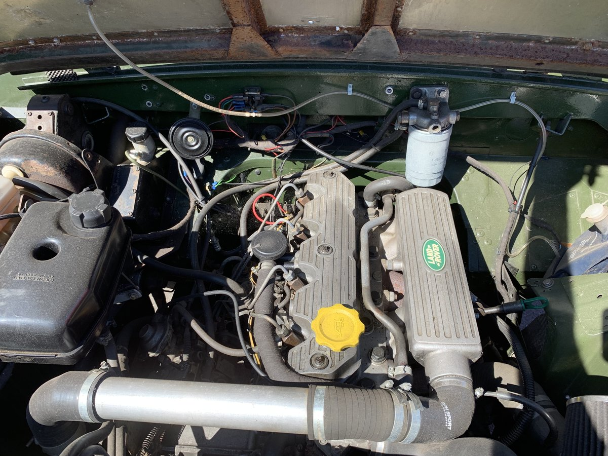 """LAND ROVER SERIES 2a 200 TDI CONVERSION 1965 88"""" For Sale (picture 3 of 6)"""