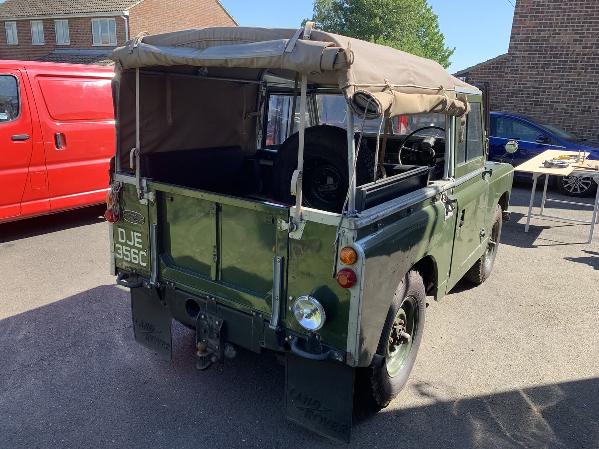 """LAND ROVER SERIES 2a 200 TDI CONVERSION 1965 88"""" For Sale (picture 4 of 6)"""