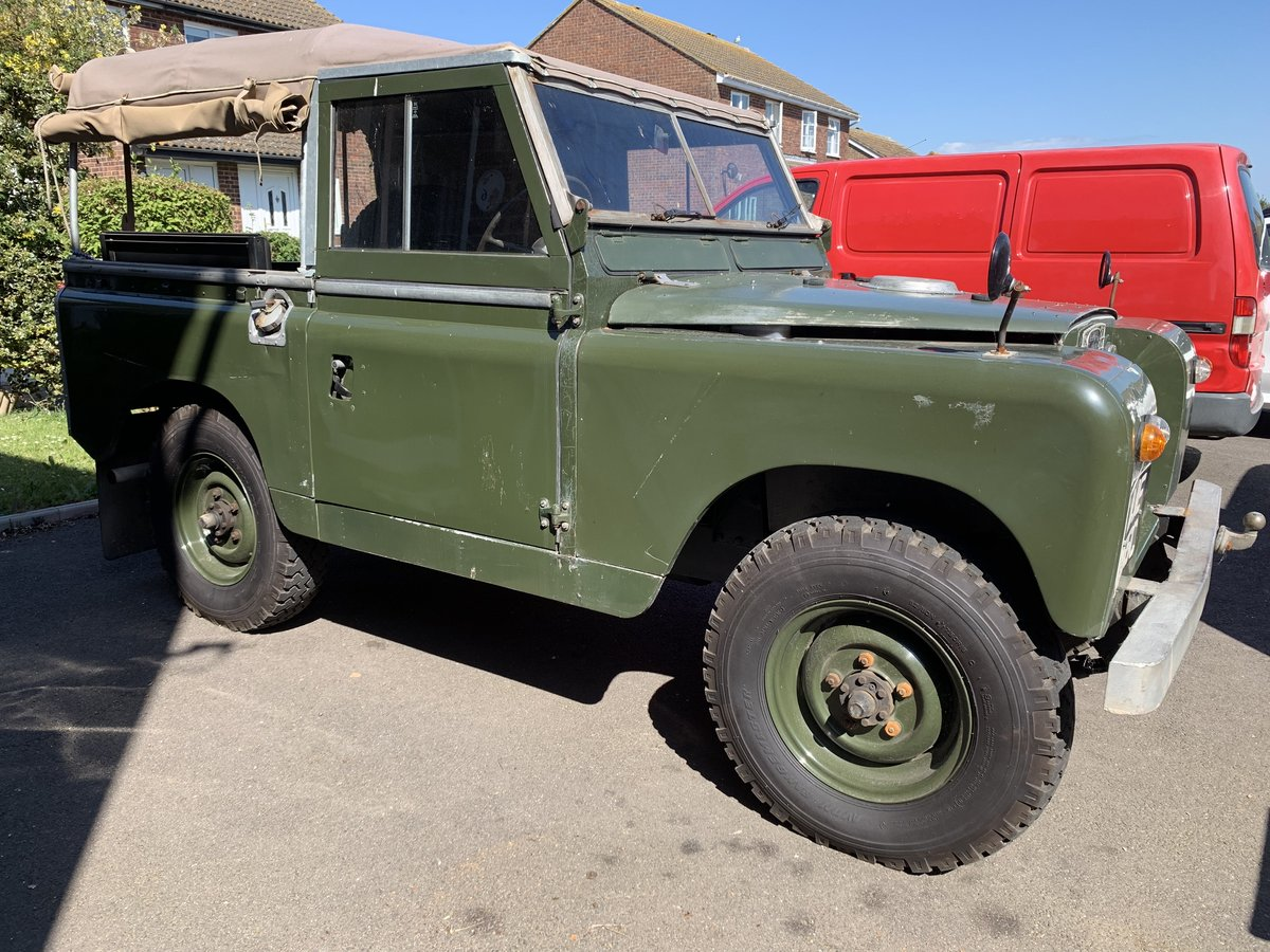 """LAND ROVER SERIES 2a 200 TDI CONVERSION 1965 88"""" For Sale (picture 5 of 6)"""