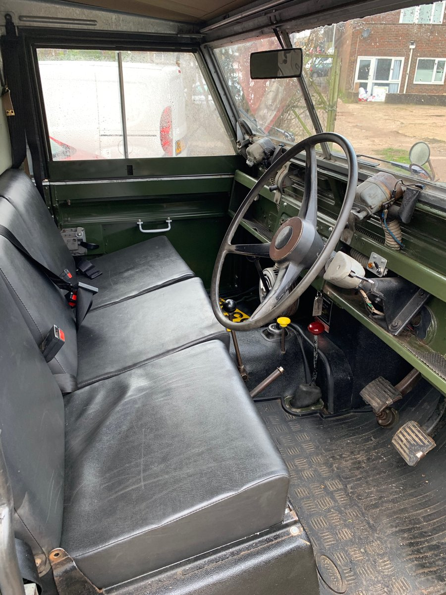 """LAND ROVER SERIES 2a 200 TDI CONVERSION 1965 88"""" For Sale (picture 6 of 6)"""