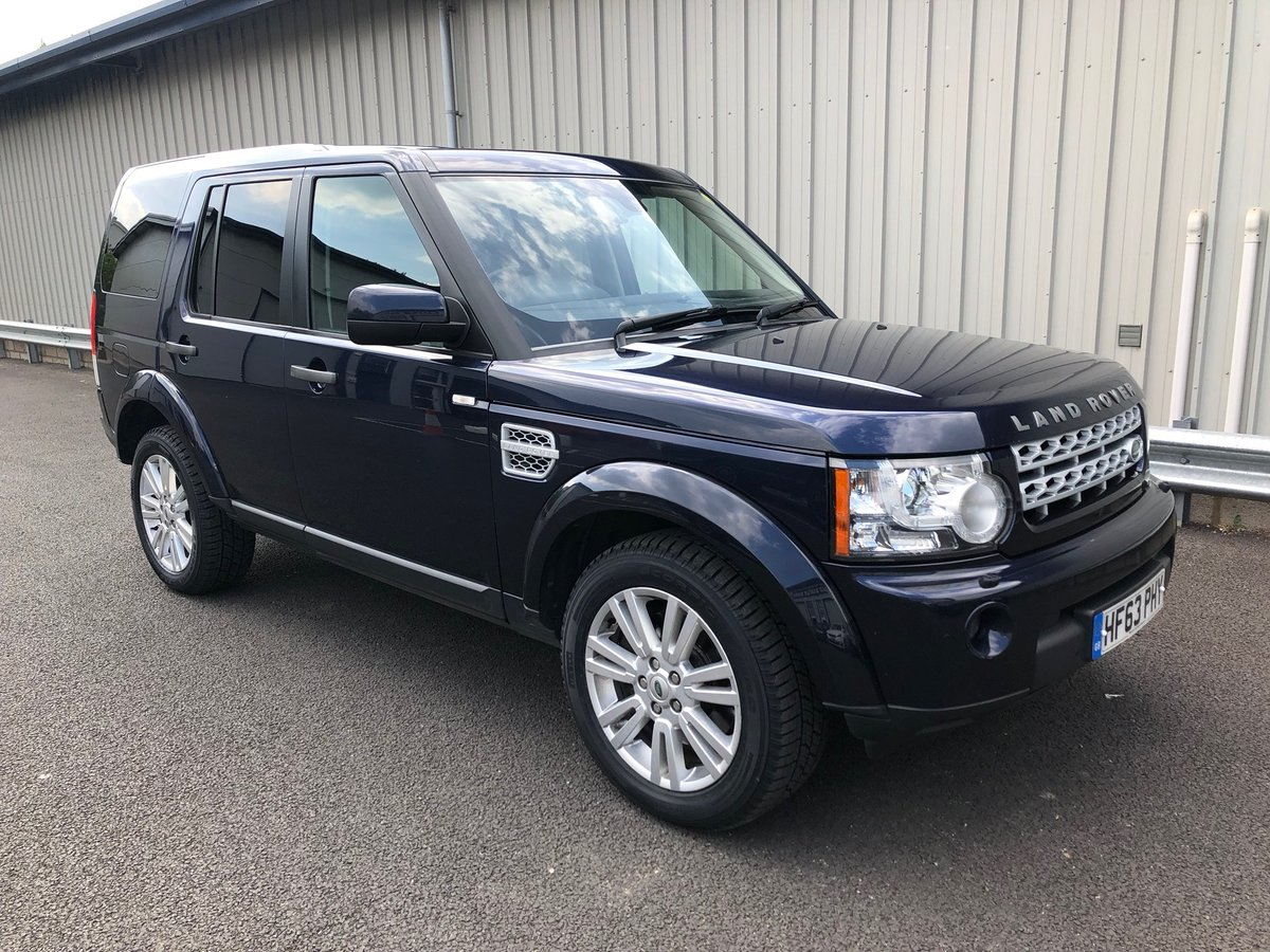 2013 63 LAND ROVER DISCOVERY 3 0 4 SDV6 COMMERCIAL VAN AUTO For Sale