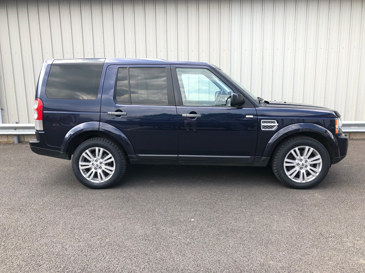 2013 63 LAND ROVER DISCOVERY 3.0 4 SDV6 COMMERCIAL VAN AUTO  SOLD (picture 2 of 6)