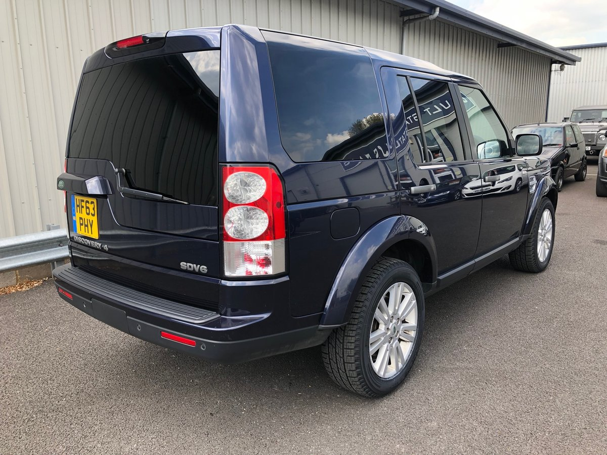 2013 63 LAND ROVER DISCOVERY 3.0 4 SDV6 COMMERCIAL VAN AUTO  SOLD (picture 3 of 6)