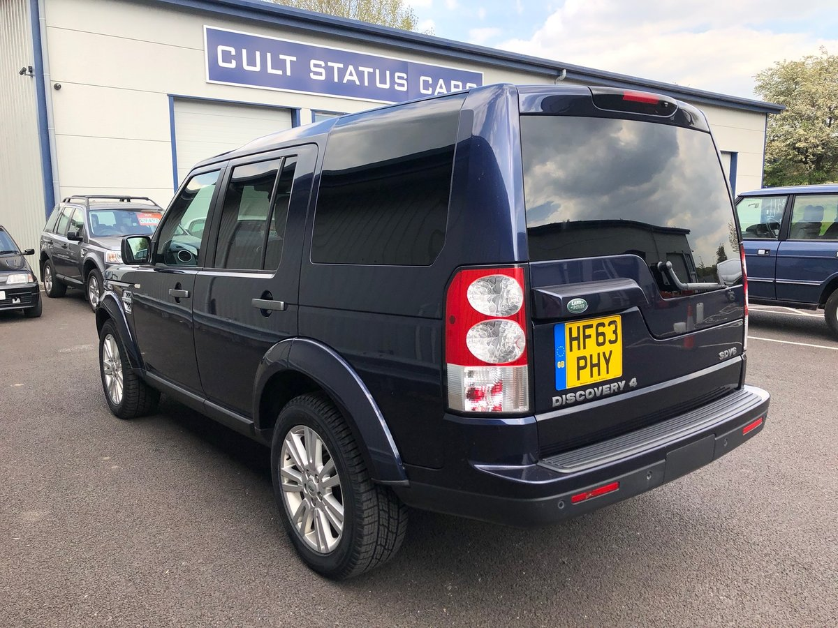 2013 63 LAND ROVER DISCOVERY 3.0 4 SDV6 COMMERCIAL VAN AUTO  SOLD (picture 4 of 6)
