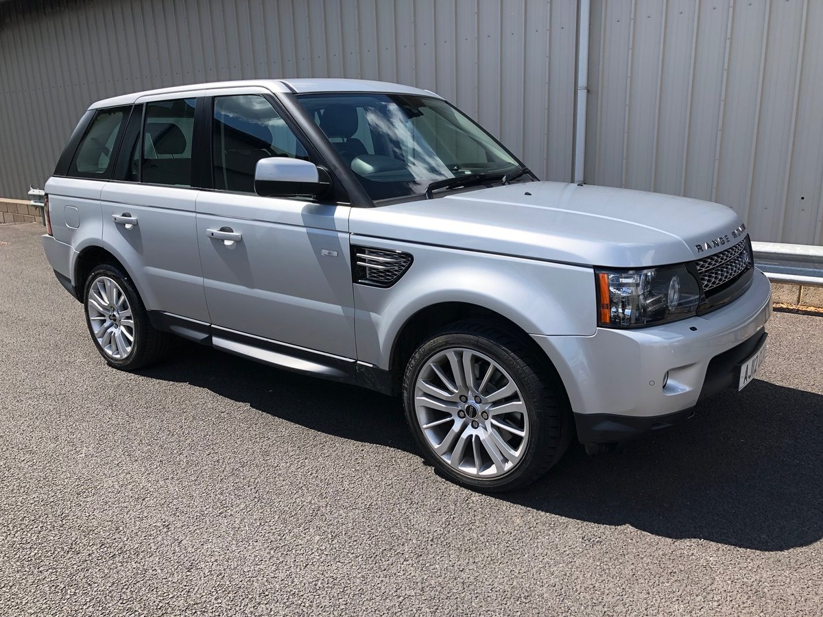 2012 LAND ROVER RANGE ROVER SPORT 3.0 SDV6 HSE AUTO 255BHP SOLD (picture 1 of 5)