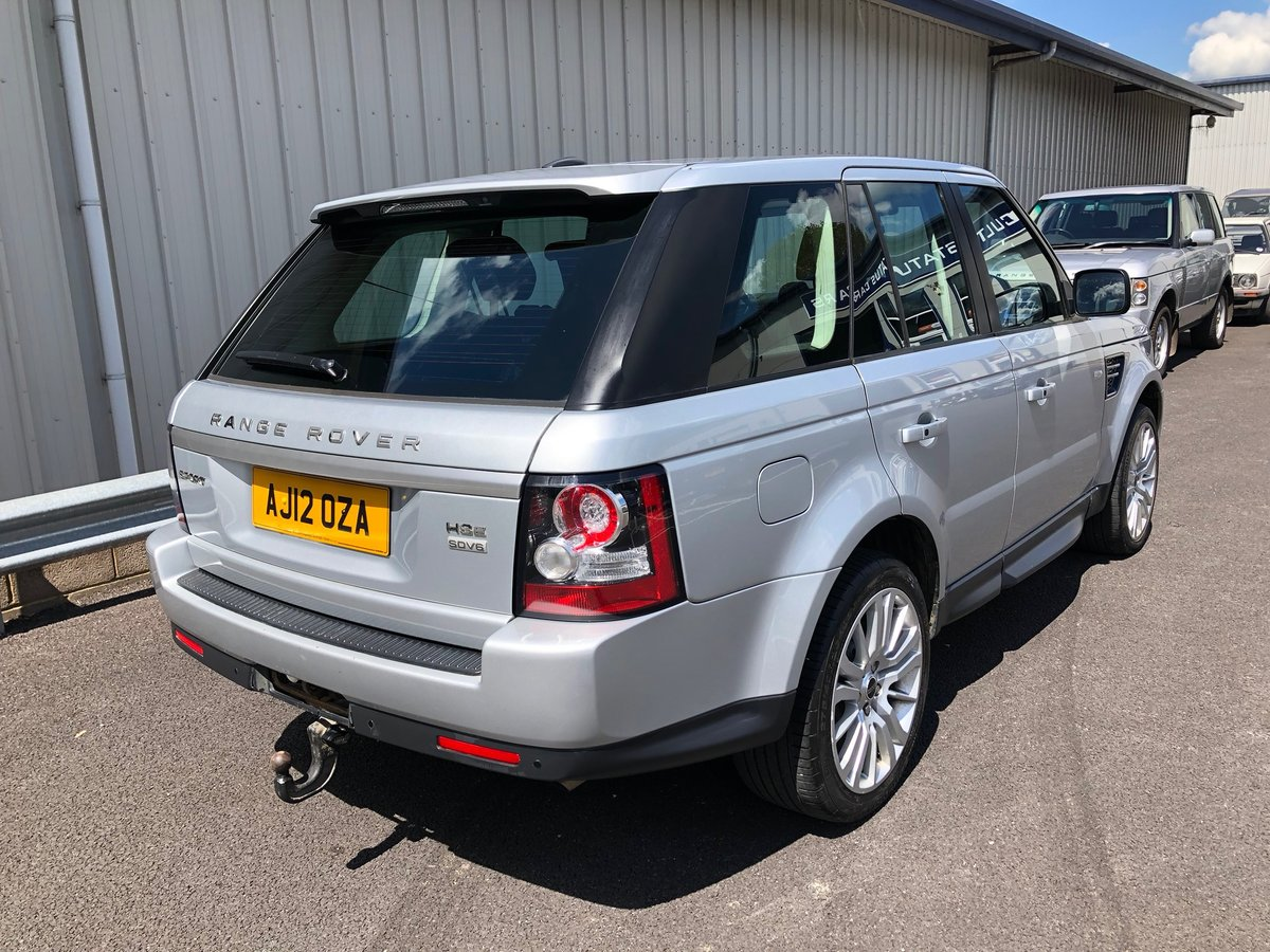 2012 LAND ROVER RANGE ROVER SPORT 3.0 SDV6 HSE AUTO 255BHP SOLD (picture 3 of 5)