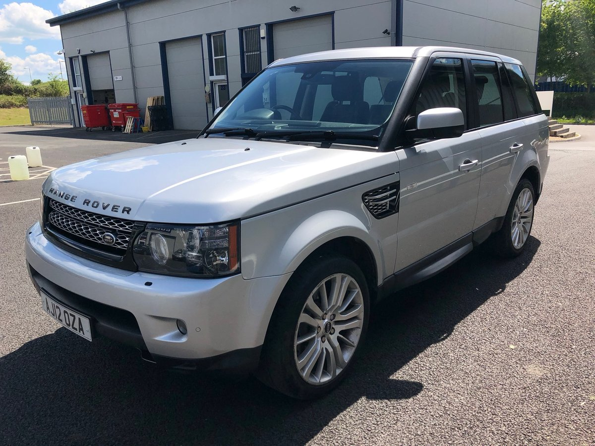 2012 LAND ROVER RANGE ROVER SPORT 3.0 SDV6 HSE AUTO 255BHP SOLD (picture 4 of 5)
