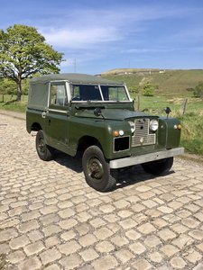 1959 Land Rover Series 2, 2.25 Petrol