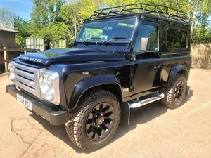 2008 superb 08/58 Defender 90 SVX station wagon 60th anniversary SOLD