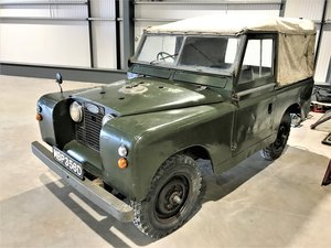 totally original 1966 Series IIa 88in petrol softtop!