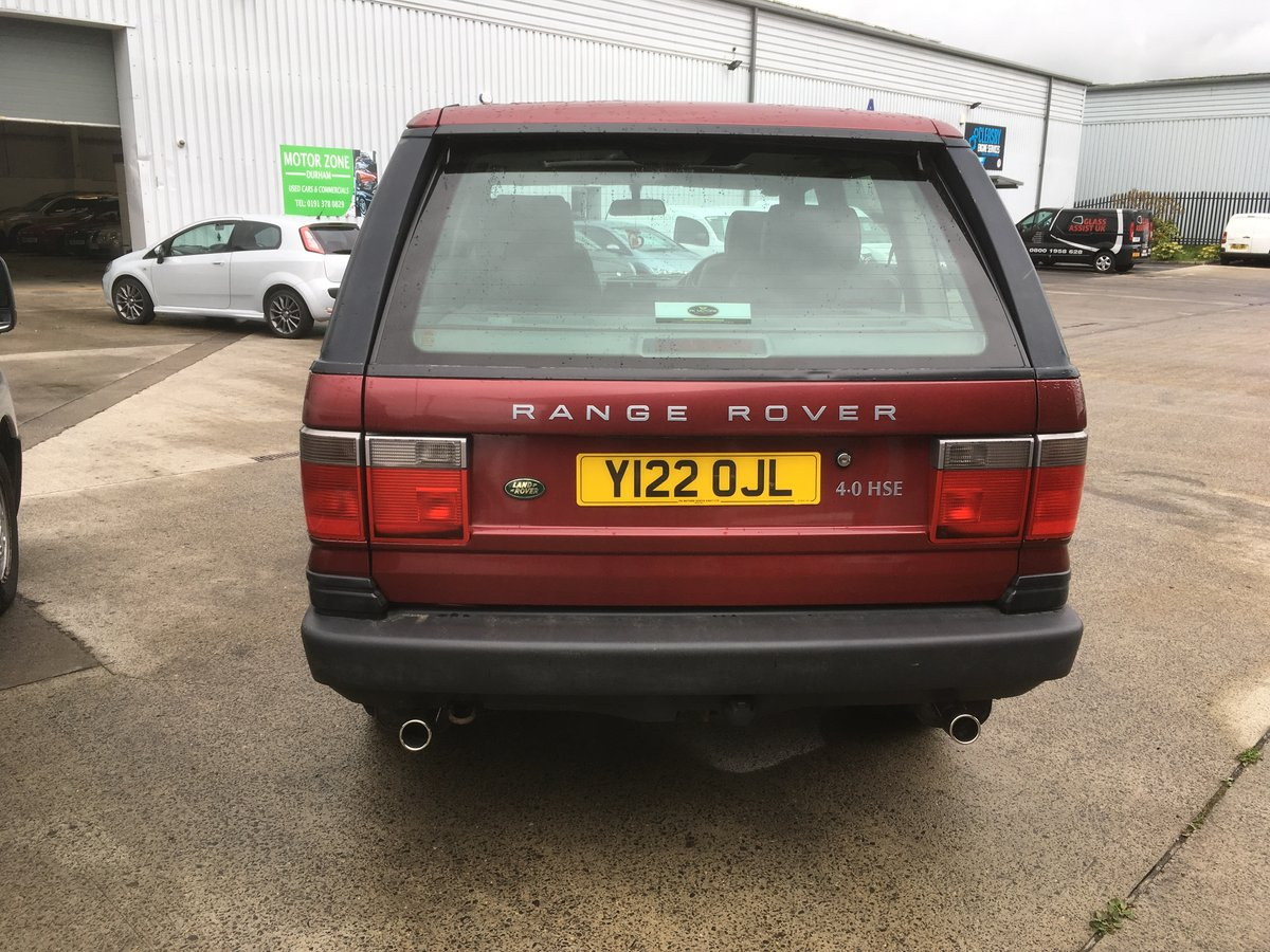 2001 land rover    range rover 4.0 hse auto For Sale (picture 3 of 6)