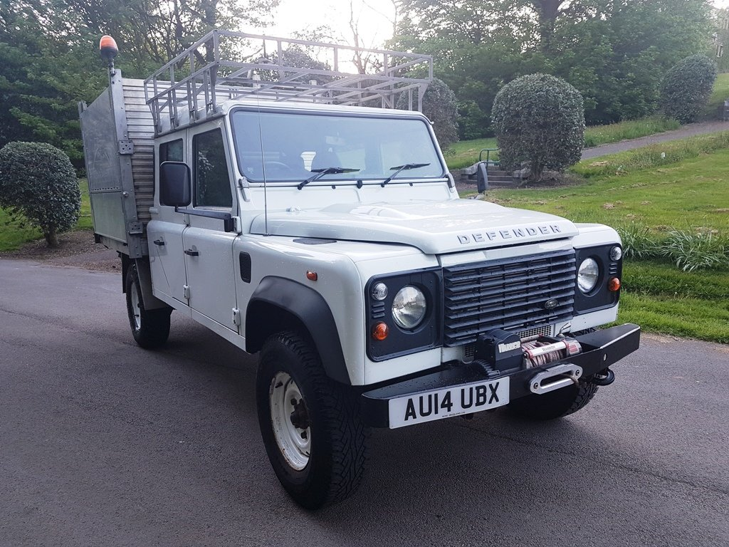 2014 LAND ROVER DEFENDER 130 DOUBLE CAB TIPPER For Sale (picture 1 of 2)