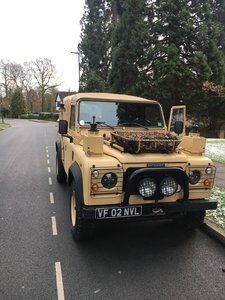 2002 Land Rover defender wolf