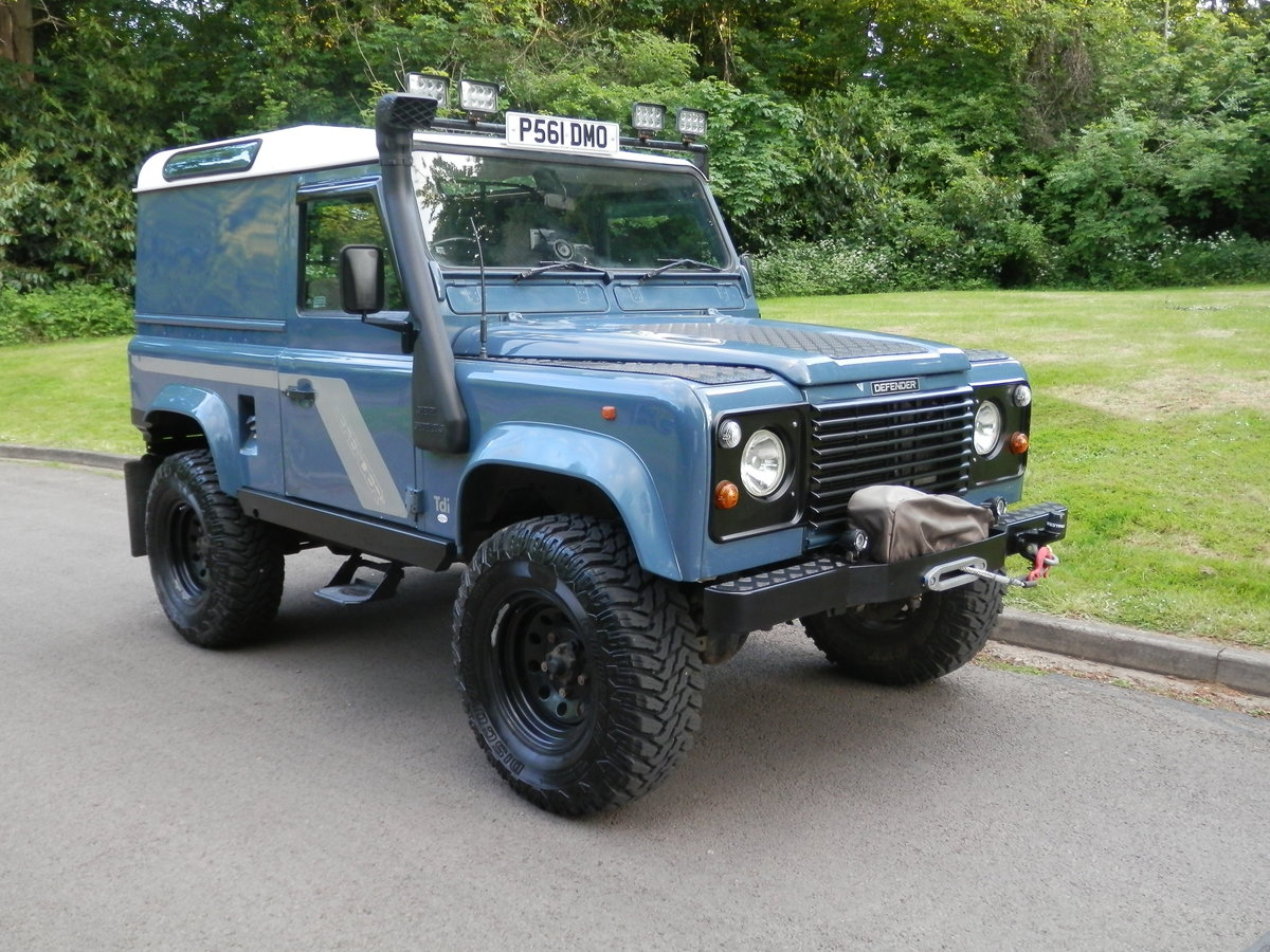 1996 Land Rover 90 Defender 300 Tdi. Many Extras. Must Be Seen. SOLD (picture 1 of 6)
