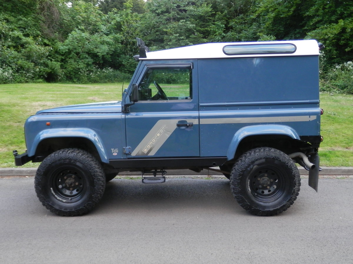 1996 Land Rover 90 Defender 300 Tdi. Many Extras. Must Be Seen. SOLD (picture 2 of 6)