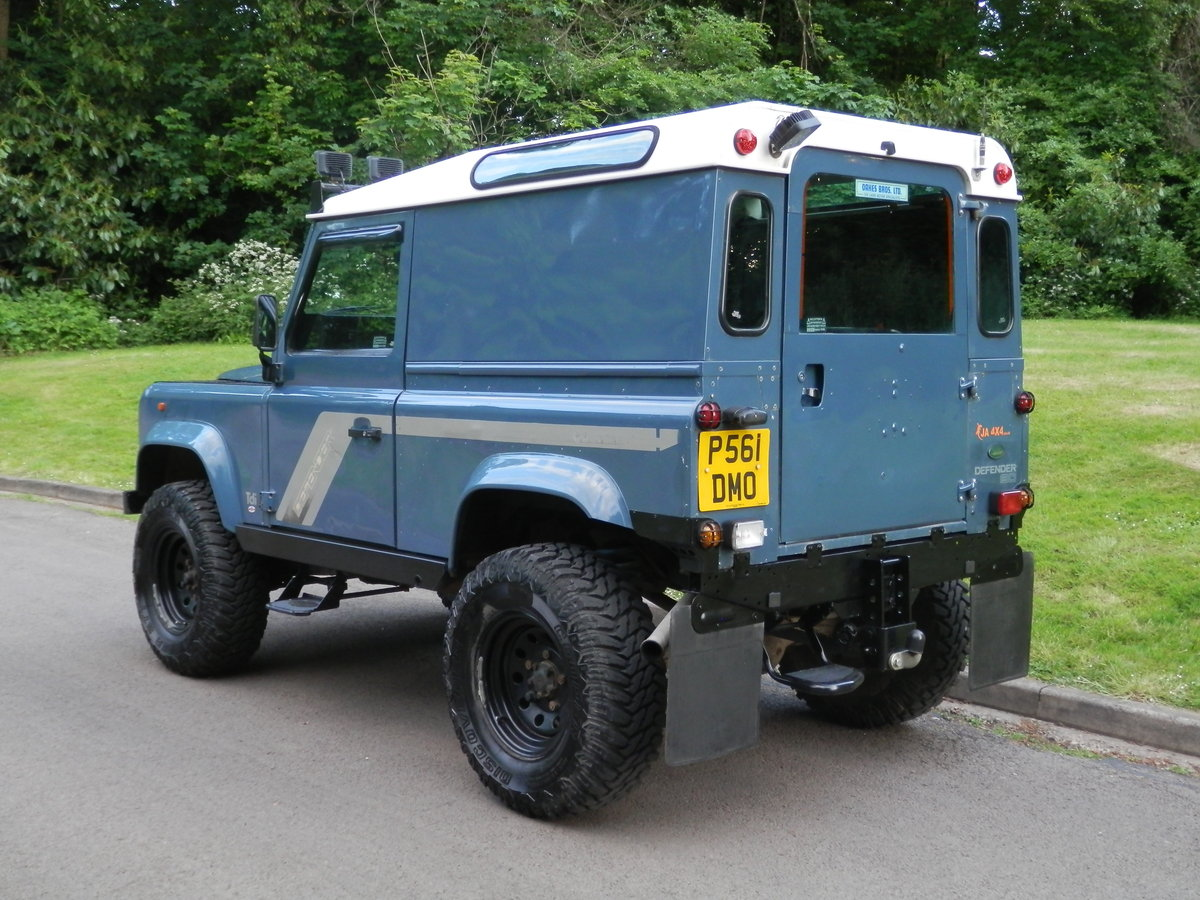 1996 Land Rover 90 Defender 300 Tdi. Many Extras. Must Be Seen. SOLD (picture 6 of 6)