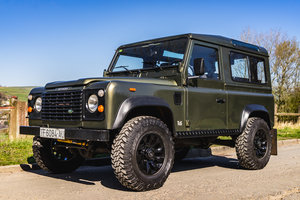 1992 Land Rover defender 90 TDi LHD Green USA EXPORT For Sale
