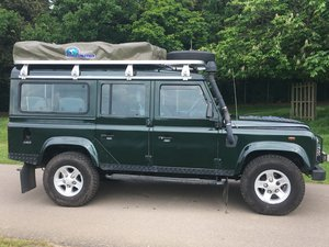 2003 LWB TD5, 9 seats, Green For Sale