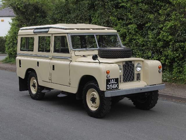 1966 Land Rover Series IIA 109 Station Wagon SOLD (picture 1 of 12)