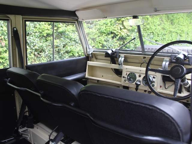 1966 Land Rover Series IIA 109 Station Wagon SOLD (picture 9 of 12)