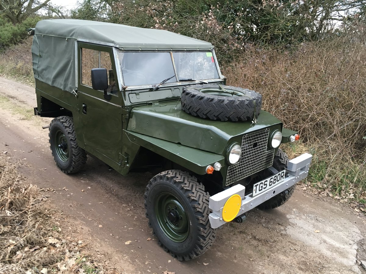 1968 Land Rover Series 2A Lightweight SOLD (picture 1 of 6)