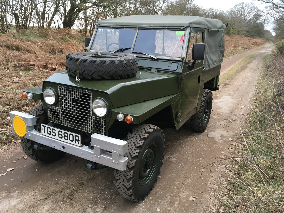 1968 Land Rover Series 2A Lightweight SOLD (picture 2 of 6)