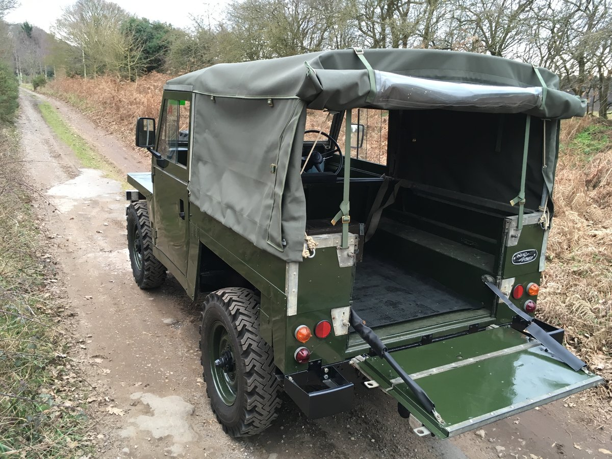 1968 Land Rover Series 2A Lightweight SOLD (picture 3 of 6)