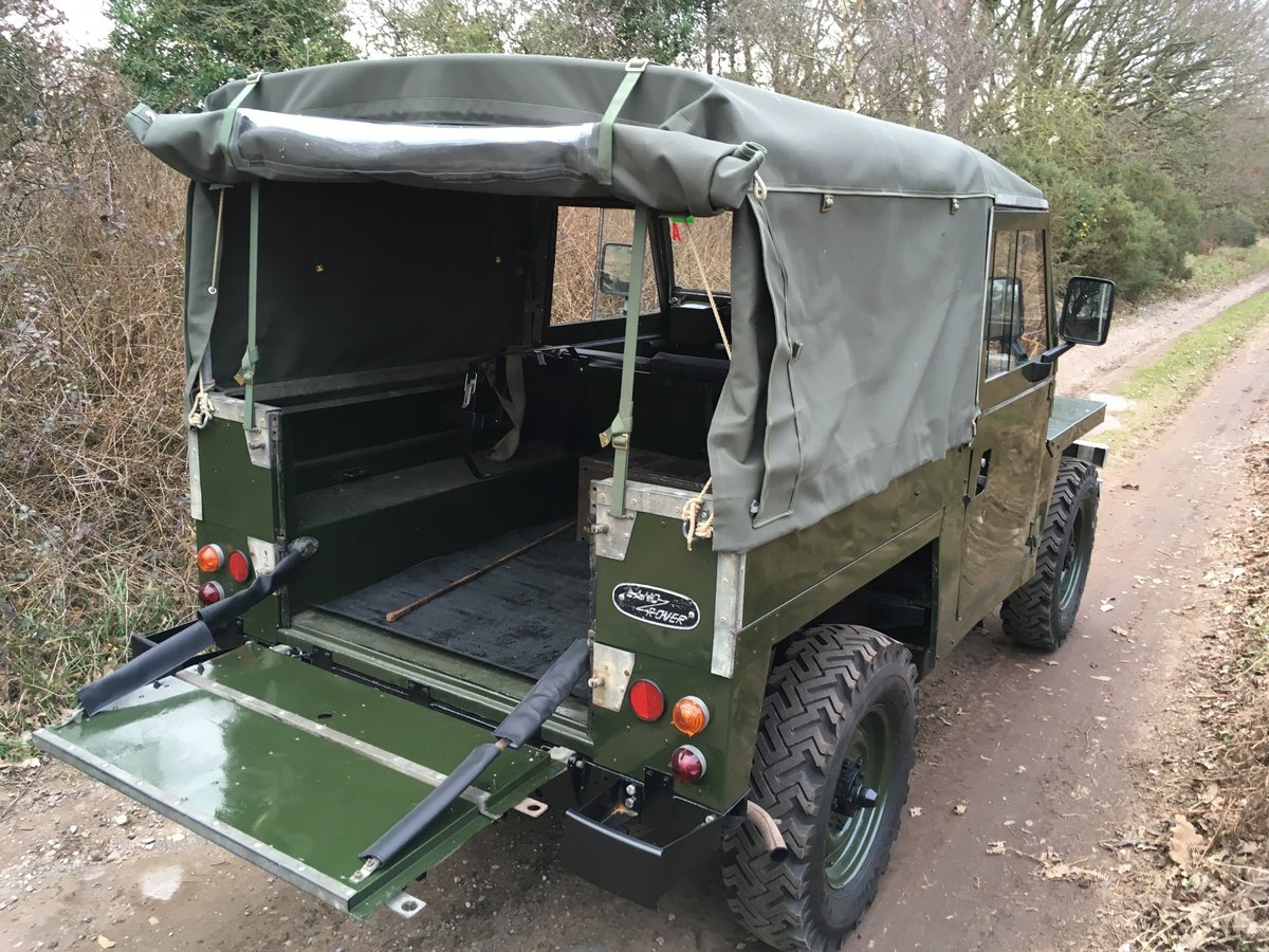 1968 Land Rover Series 2A Lightweight SOLD (picture 4 of 6)