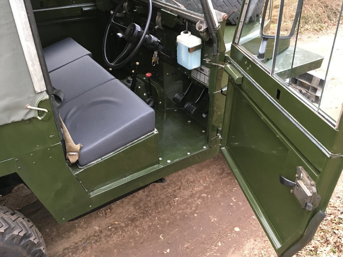 1968 Land Rover Series 2A Lightweight SOLD (picture 5 of 6)