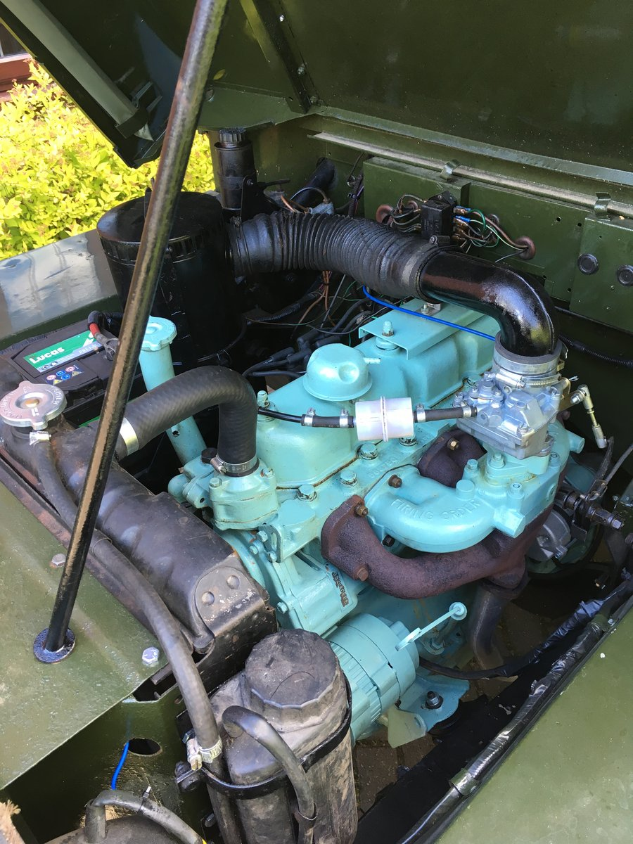 1968 Land Rover Series 2A Lightweight SOLD (picture 6 of 6)
