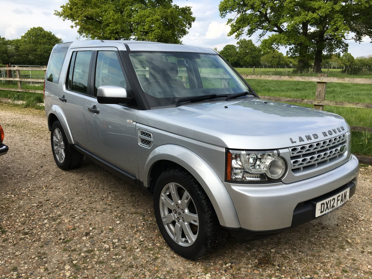 2012 Land Rover Discovery 4  For Sale (picture 1 of 6)