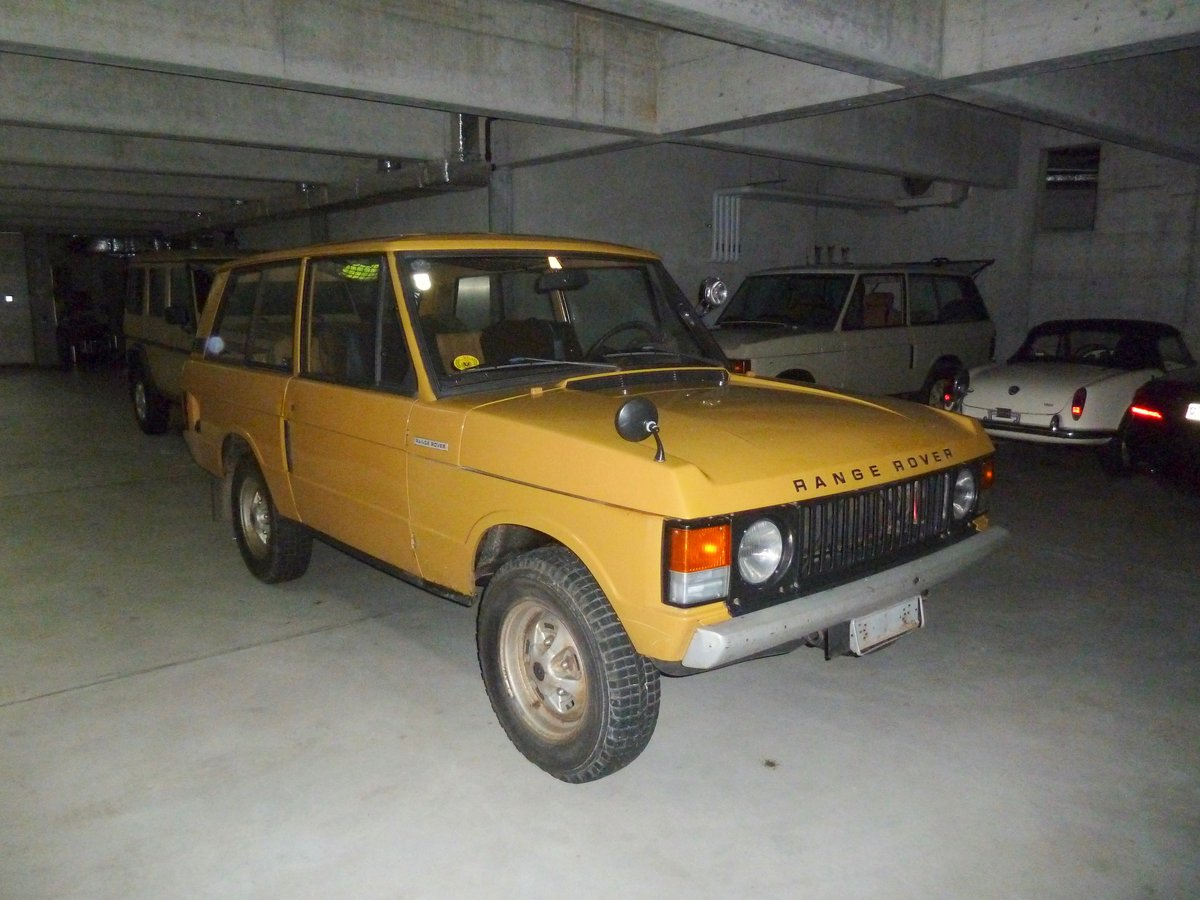 1972 100% original unmolested suffix A  LHD Range Rover For Sale (picture 1 of 6)