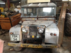 1956 Landrover series 1 86 inch station wagon