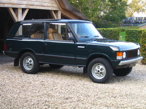 1972 Range Rover Classic Serie 1 LHD Perfect For Sale