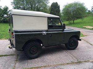 1977 Land Rover Series three petrol