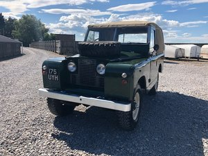 1961 Land Rover® Series 2a *MOT & Tax Exempt Ragtop* (UYH) SOLD